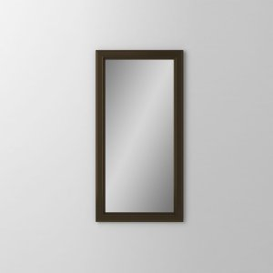 """Main Line 15-1/8"""" X 29-7/8"""" X 1-5/8"""" Bryn Mawr Framed Mirror In Brushed Bronze Product Image"""