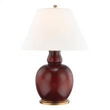 Table Lamp - IMPERIAL OX BLOOD RED