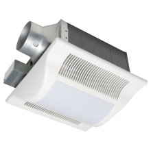 WhisperFit-Lite 80 CFM Low Profile Ventilation Fan with Light
