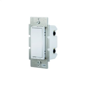GE In-Wall Paddle Dimmer (for Works with Ring Alarm Security System) - White Product Image