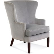 Tredwell Wing Chair with Nailheads