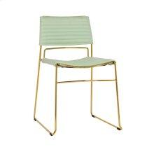 Domani Mint Vegan Leather Chair (Set of 2)