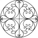 Escondido Wall Medallion Product Image