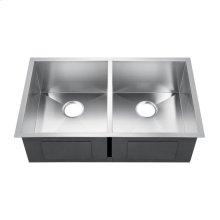 Jenessa Double Bowl Stainless Kitchen Sink
