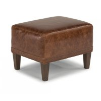 Wheatley Leather Ottoman Product Image
