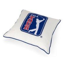 PGA TOUR Clubhouse Logo Embroidery Pillow