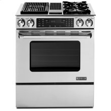 """Stainless Steel Jenn-Air® Slide-In Modular Dual-Fuel Downdraft Range with Convection, 30"""""""