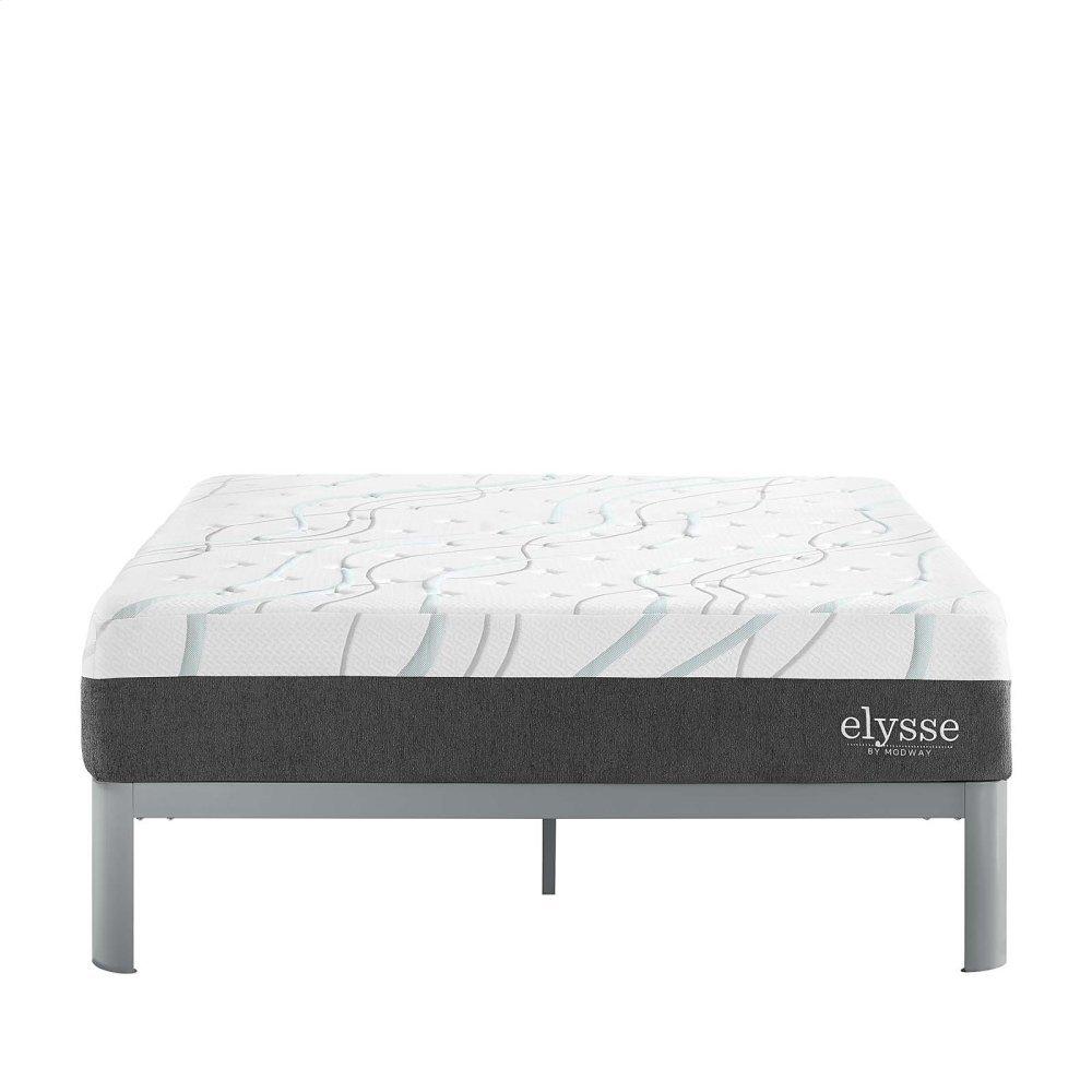 "Elysse Queen CertiPUR-US® Certified Foam 12"" Gel Infused Hybrid Mattress"