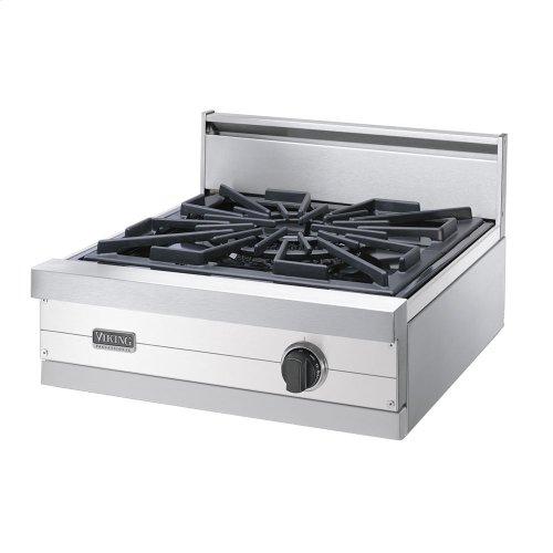 """Metallic Silver 24"""" Gas Wok/Cooker - VGWT (24"""" wide wok/cooker)"""
