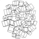 Cubed Wreath Wall Art Product Image