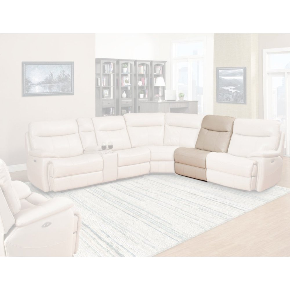 DYLAN - CREME Armless Chair