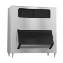 "B-1650SS, 60"" W High Capacity Ice Storage Bin - Stainless Steel Exterior"