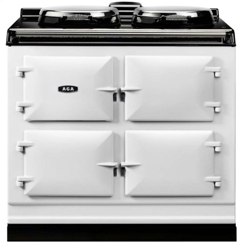 Black AGA Dual Control 3-Oven All Electric2
