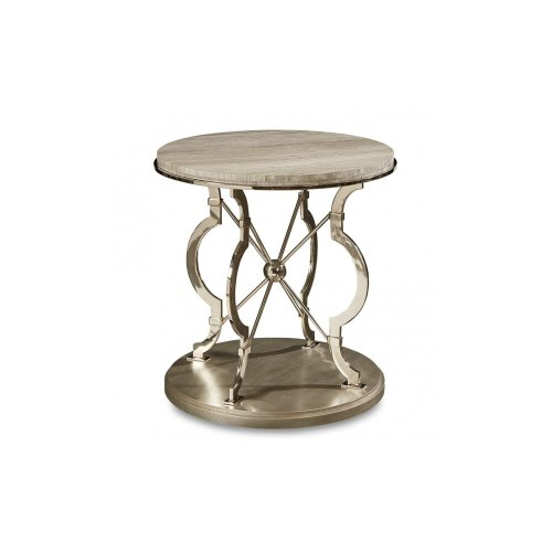 Morrissey Yeats Round Lamp Table