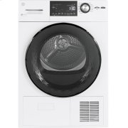 """GE® 24"""" 4.1 Cu.Ft. Front Load Ventless Condenser Electric Dryer with Stainless Steel Basket Product Image"""