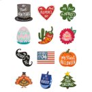 My First Holidays Belly Stickers (12 pc. set) Product Image