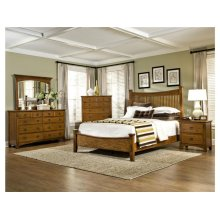 Intercon Bedroom Sleigh King Bed with Standard FB