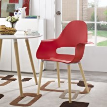 Soar Dining Armchair in Red