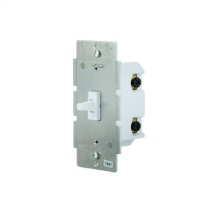 GE In-Wall Toggle Switch (for Works with Ring Alarm Security System) - White Product Image