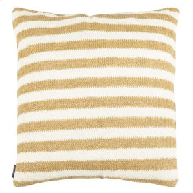 Glenna Pillow - Whtie/yellow