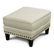 Meredith Ottoman with Nails 7J07N