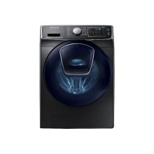 5.0 cu. ft. AddWash Front Load Washer in Black Stainless Steel
