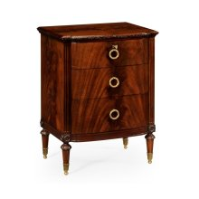Mahogany Bedside Chest of Drawers