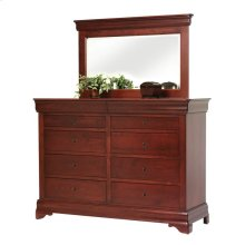 Louis Phillipe High Dresser- Mirror