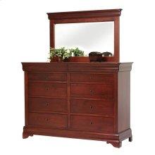 Louis Phillipe High Dresser- Mirror