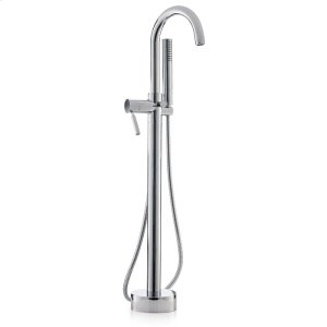 CONTEMPORARY Free Standing Tub Filler with Hand Shower Product Image