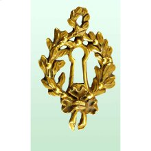 Skeleton Key Rosette Louis XVI Style