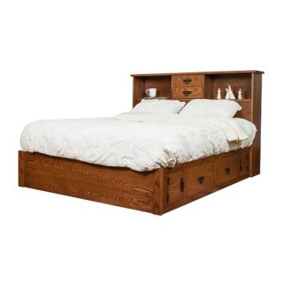 Old Mission Bookcase Bed