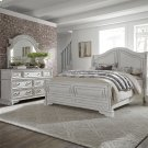 King Sleigh Bed, Dresser & Mirror Product Image