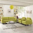 Empress Sofa and Armchairs Set of 3 in Wheatgrass Product Image