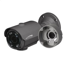 HD-TVI 2MP Flexible Intensifier® Technology Bullet Camera with Junction Box, 2.8-12mm motorized lens, Dark Gray Housing