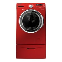 3.7 cu. ft. High Efficiency VRT™ Steam Front Load Washer (Tango Red)