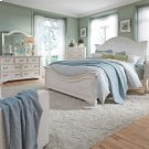Queen Panel Bed, Dresser & Mirror Product Image