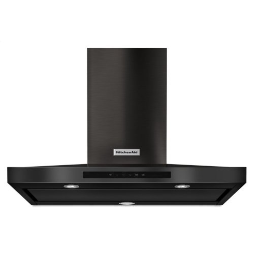 "36"" Wall-Mount, 3-Speed Canopy Hood - Black Stainless"