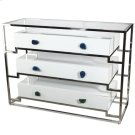 Stainless Steel Cabinet With 3 Drawers Product Image