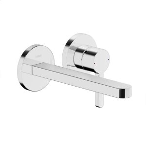 Edge 2-hole in-wall for wash basin, chrome Product Image