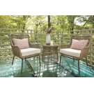 Chairs w/CUSH/Table Set (3/CN) Product Image