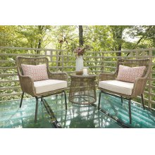 Chairs w/CUSH/Table Set (3/CN)