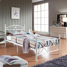 Cottage Twin Bed in White