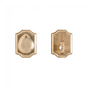 Bordeaux Dead Bolt - DB30890 Silicon Bronze Brushed Product Image