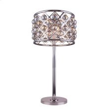 1206 Madison Collection Table Lamp Polished Nickel Finish