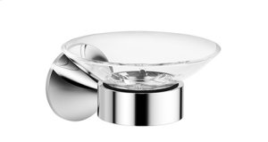 Soap dish wall-mounted - chrome Product Image
