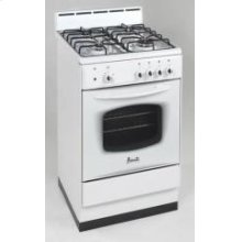 "Model DG240W - 24"" Deluxe Gas Range White"