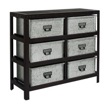 Buckle Metal Storage Bin Chest