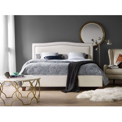 Bedroom Nest Theory Willow 54in King Upholstered Bed