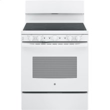 """GE 30"""" Free-standing Electric Radiant Smooth Cooktop Range.  (This is a Stock Photo, actual unit (s) appearance may contain cosmetic blemishes. Please call store if you would like actual pictures). This unit carries A ONE YEAR MANUFACTURER WARRANTY. REBATE NOT VALID with this item. ISI 34151GH"""